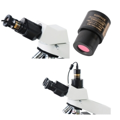 KOPPCE 2 Million Pixel USB 2.0 Microscope Camera 23.2mm to 30mm/30.5mm Microscope Electronic Eyepiece
