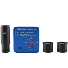 KOPPCE 38 Million Pixel Microscope Camera 0.5X Electronic Eyepiece HDMI Camera Interface 23.2mm to 30mm Und 30.5mm Adapter