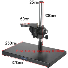 KOPPACE Monocular Microscope Stand Fine-Tuning Accuracy 0.002mm Large Platform Microscope Stand Lens Diameter 50mm