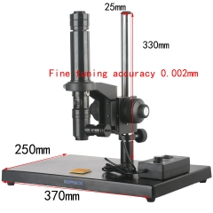 KOPPACE 63X-400X Coaxial Optical Microscope Lens With Fine-Tuning 0.002mm Accuracy Bracket To Observe The LCD Panel ITO Chip